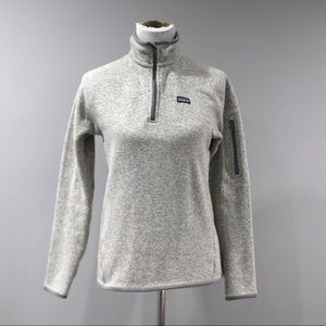 Patagonia Better Sweater Womens Medium Gray